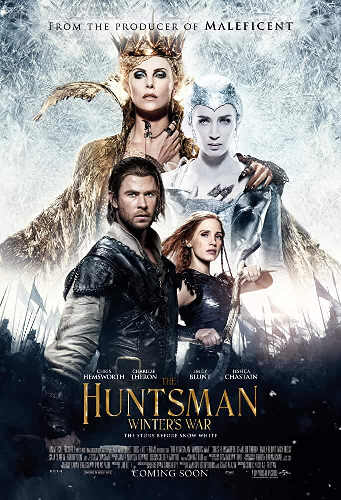 Download The Huntsman: Winter's War (2016) Dual Audio {Hindi-Eng} 480p [350MB] | 720p [1.2GB] | 1080p [4.8GB]