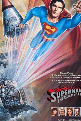 Superman IV: Em Busca da Paz Dublado Online
