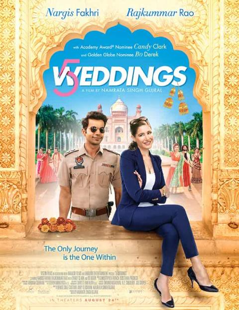 Download 5 Weddings (2018) Hindi Full Movie 480p [300MB] | 720p [700MB]