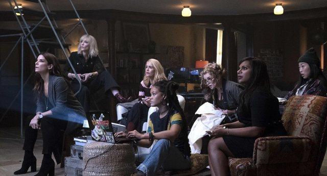 Equipa composta por oito mulheres, para o assalto à Gala do MET.