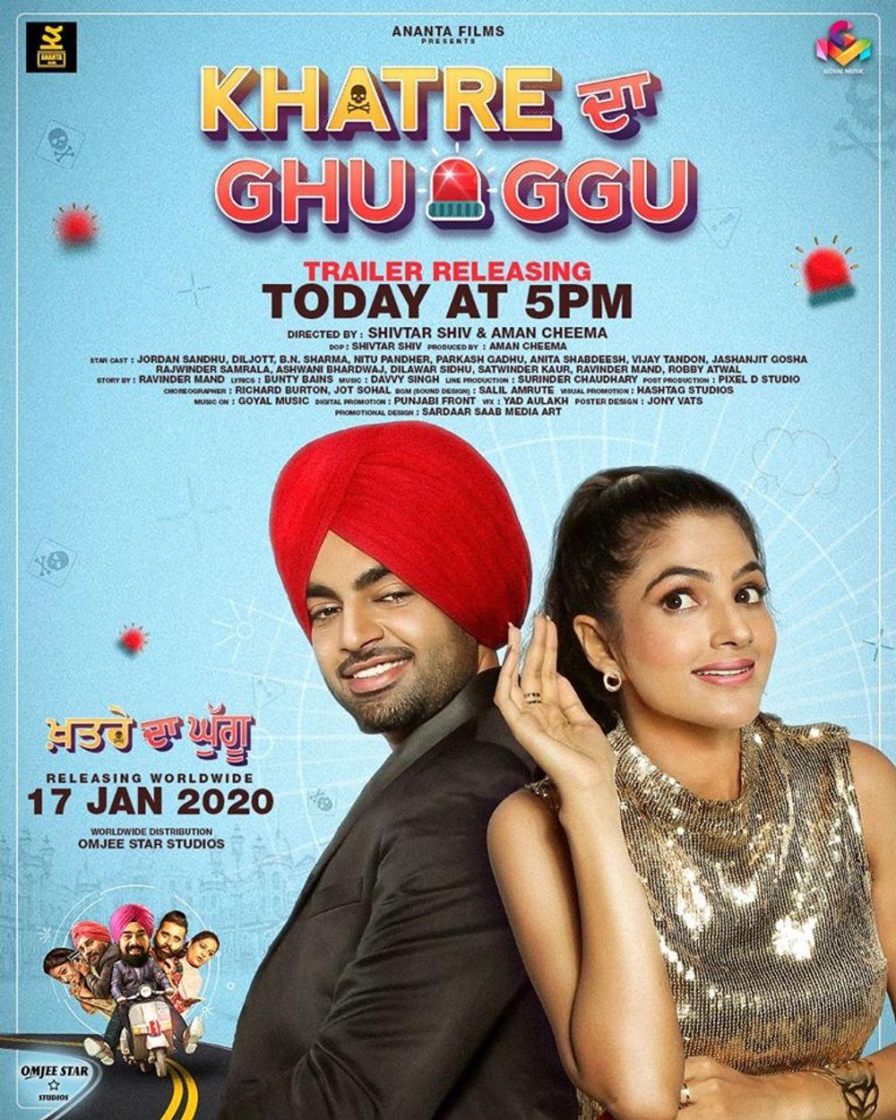 Download Khatre Da Ghuggu 2020 Punjabi 1080p HDRip 3GB