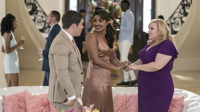Priyanka Chopra, Rebel Wilson, and Adam Devine in Isn't It Romantic (2019) Romantic Comedies