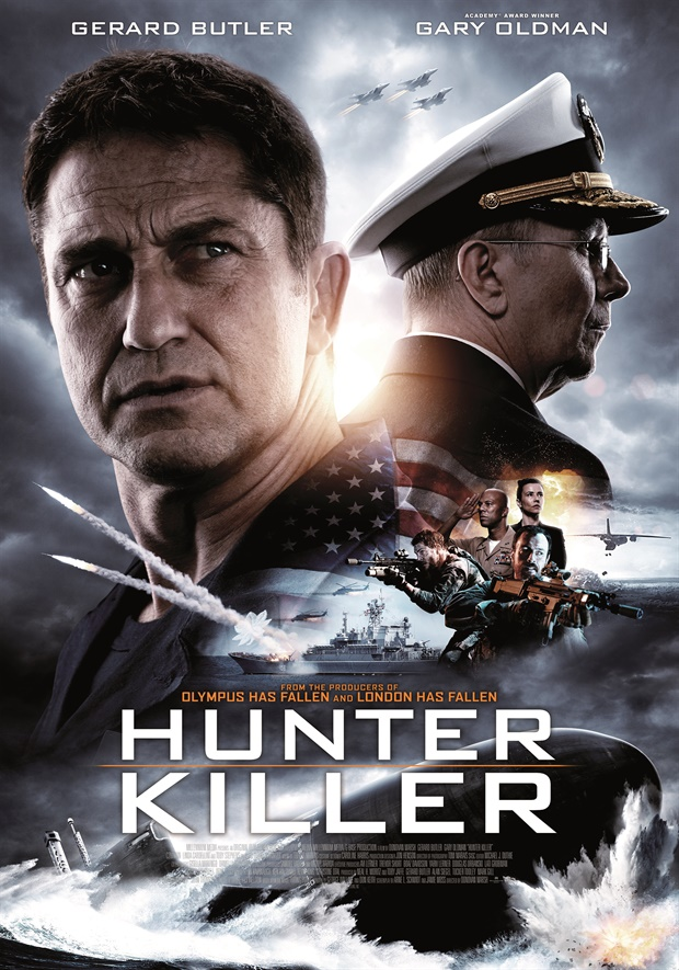 Hunter Killer 2018 Hindi Dubbed 720p BluRay 1GB Download