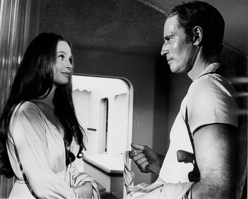 Charlton Heston and Leigh Taylor-Young in Soylent Green (1973)