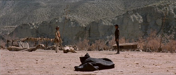 Henry Fonda and Charles Bronson in C'era una volta il West (1968)