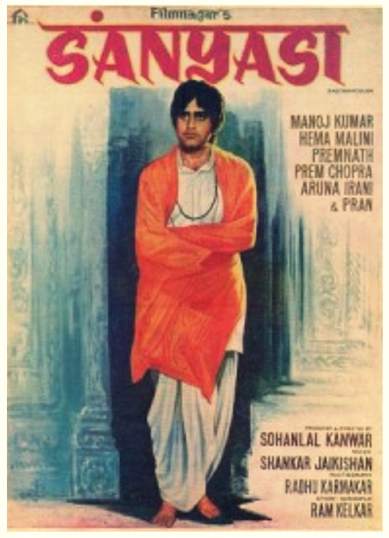 Sanyasi 1975 Hindi Movie JC WebRip 400mb 480p 1.2GB 720p 4GB 6GB 1080p