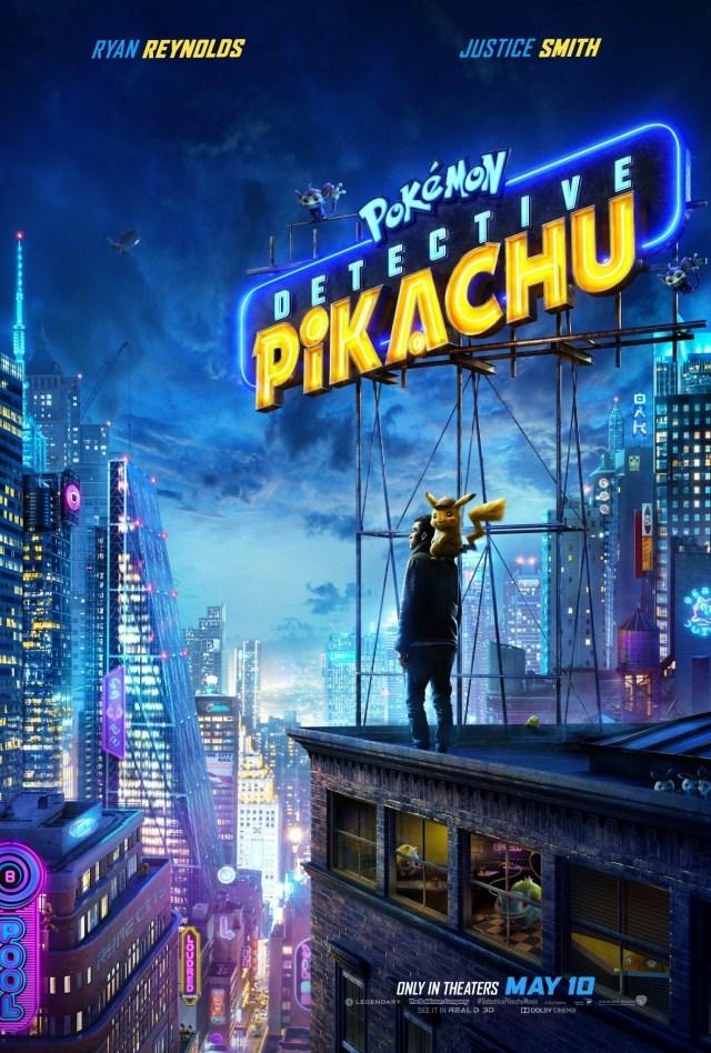 Image result for detective pikachu poster