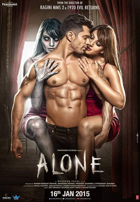Download Alone (2015) Hindi Movie 480p [400MB] | 720p [1GB] BluRay