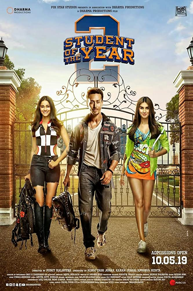 Upcoming Bollywood Movie Student Of The Year 2 Star Cast, Release Date, Trailer
