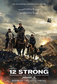 12 Strong (2018) BluRay Dual Audio [Hindi (HQ Dubbed) & English] 1080p 720p 480p