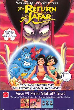 Aladdin – O Retorno de Jafar Dublado Online