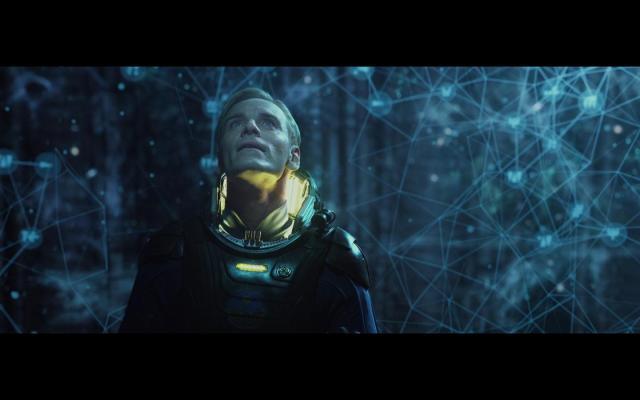 Michael Fassbender in Prometheus (2012)
