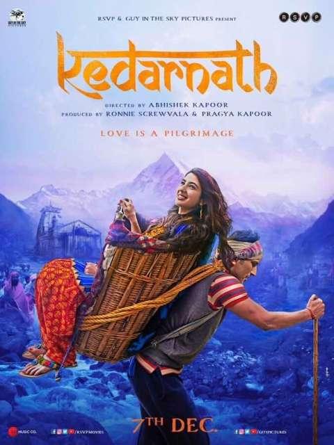 Download Kedarnath (2018) Full Movie In Hindi HDRip 480p [300MB] | 720p [900MB] | 1080p [1.3GB]