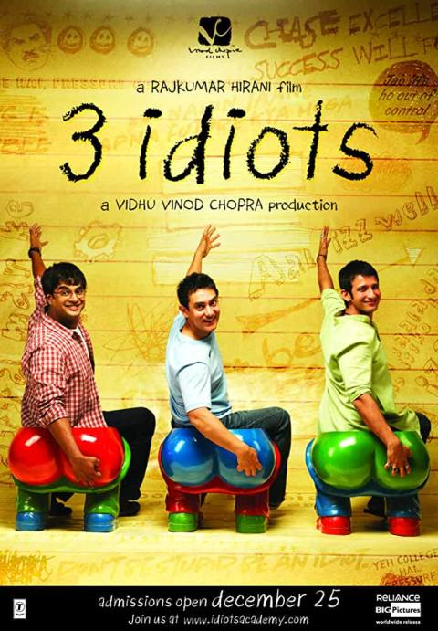 Download 3 Idiots (2009) Hindi Movie 480p [650MB] || 720p [1.5GB] | 720p [2.8GB]