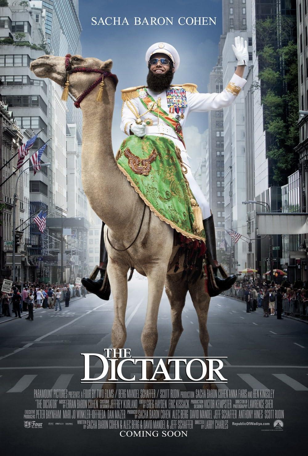 The Dictator 2012 Hindi Dual Audio 720p BluRay ESubs 600MB Download