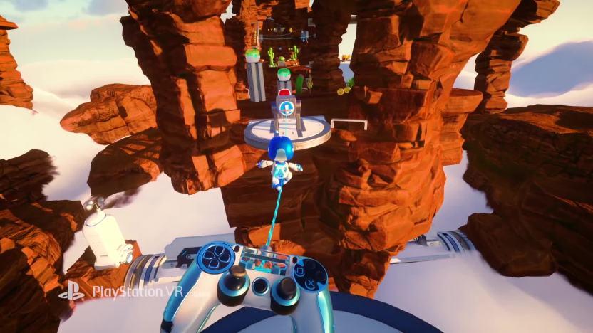 Znalezione obrazy dla zapytania Astro Bot: Rescue Mission screenshots gameplay