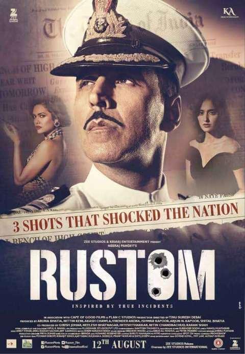 Rustom (2016) Full Movie Download In Hindi BluRay 480p [450MB]   720p [1GB]