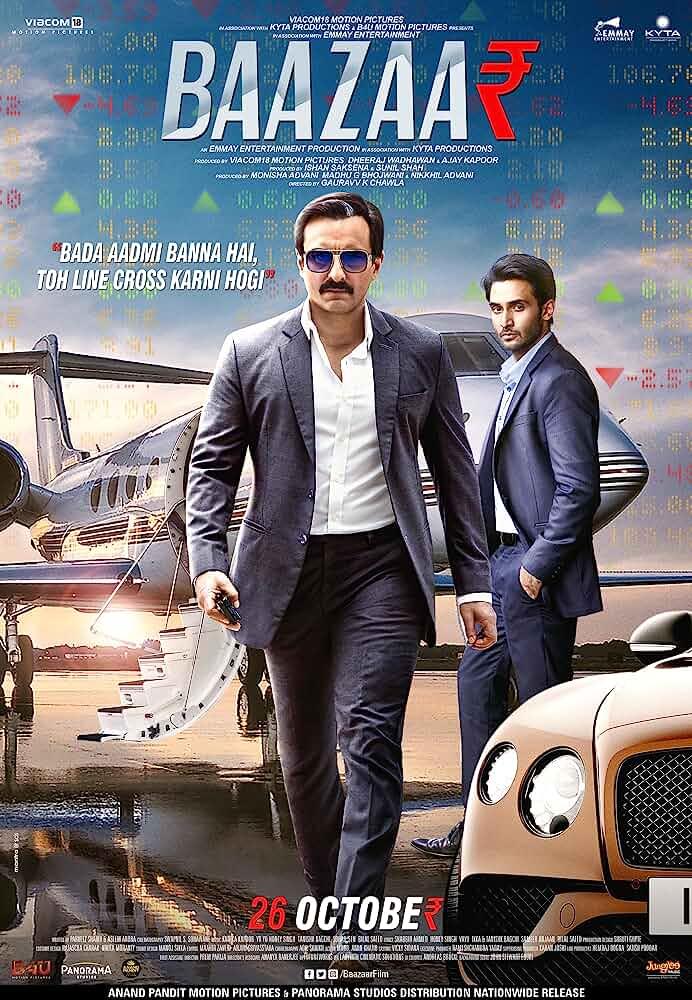 Download Baazaar (2018) Hindi Full Movie 480p [300MB] | 720p [1GB]