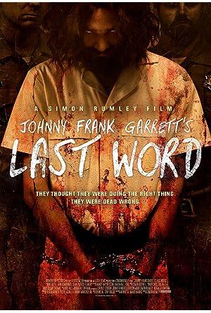 As Últimas Palavras de Johnny Frank Garrett Legendado Online