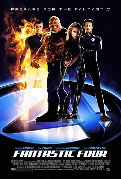 Fantastic Four (2005) Full Movie Download In Hindi-English (Dual Audio) Bluray 480p [450MB] | 720p [660MB]