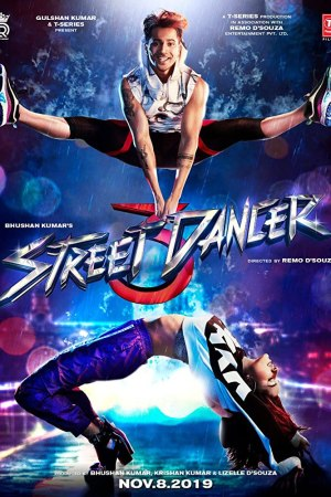Upcoming Bollywood Movie Street Dancer 3D First Look Poster New