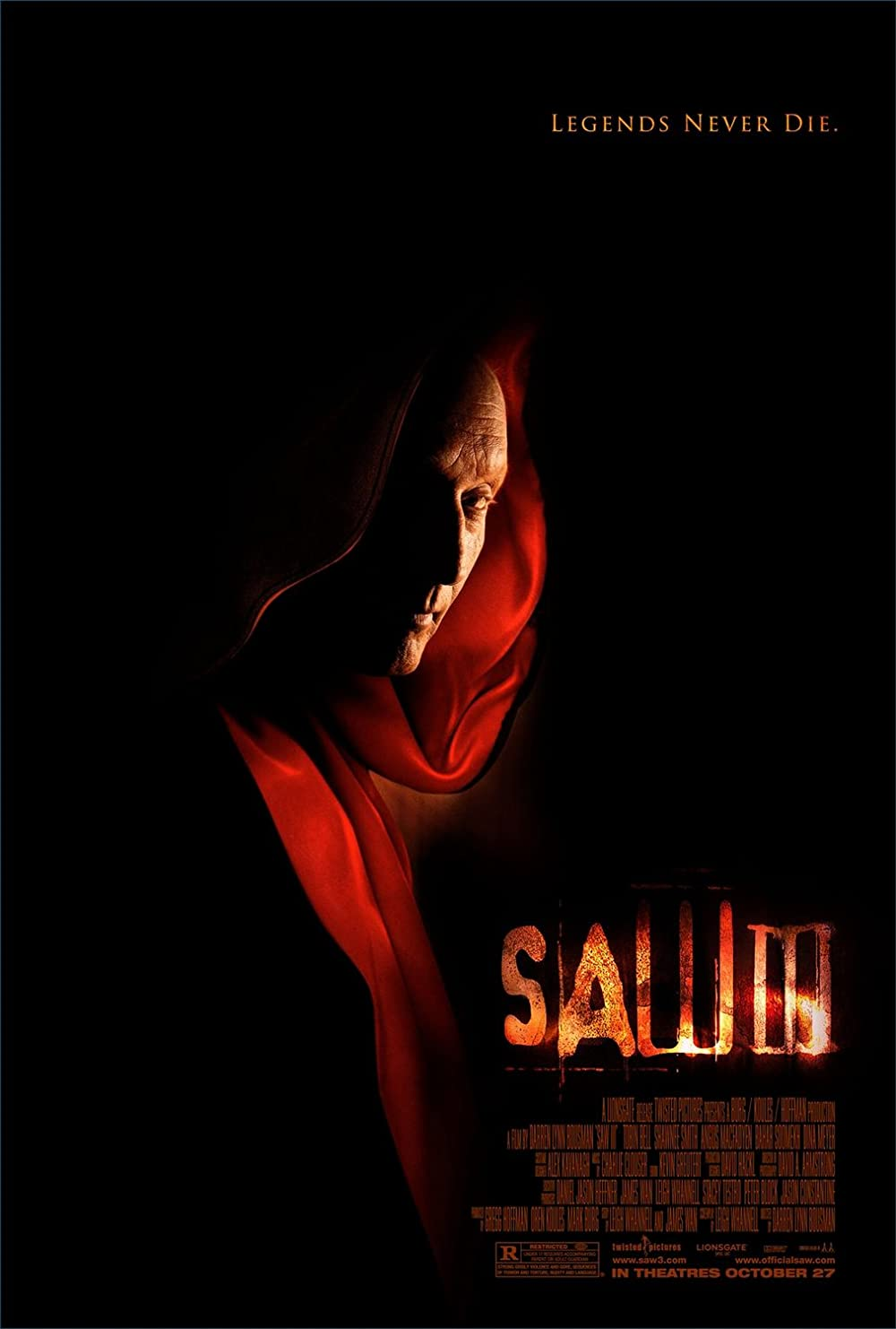 Saw III 2006 Hindi Dual Audio 720p UNRATED BluRay  800MB Download