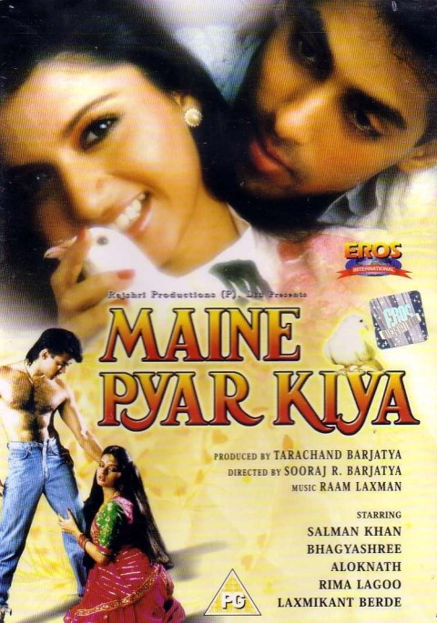 Download Maine Pyar Kiya 1989 Hindi Movie BluRay  480p | 720p