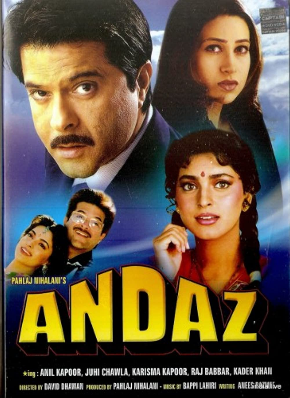 Andaz 1994 Hindi 480p |  720p HDRip 504MB | 1.1GB Download