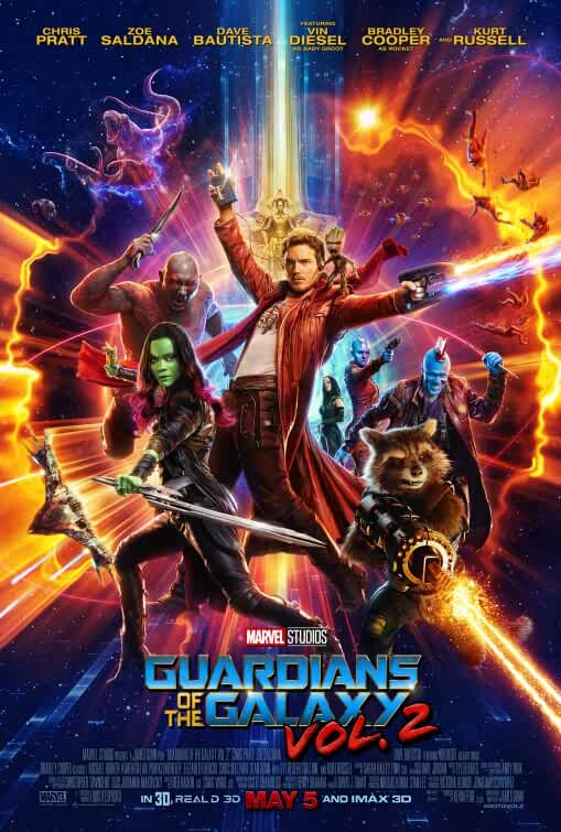 Download Guardians of the Galaxy Vol. 2 (2017) Dual Audio {Hindi-Eng} 480p [400MB] | 720p [1GB] | 1080p [4GB]
