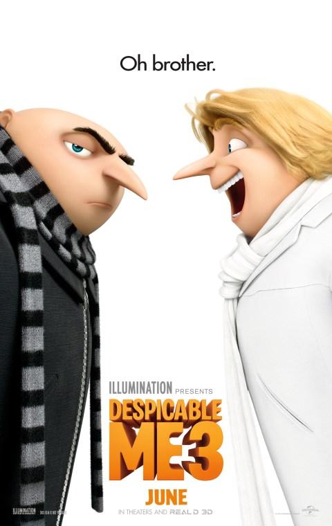 Despicable Me 3 (2017) {Hindi-English} 480p  720p  1080p