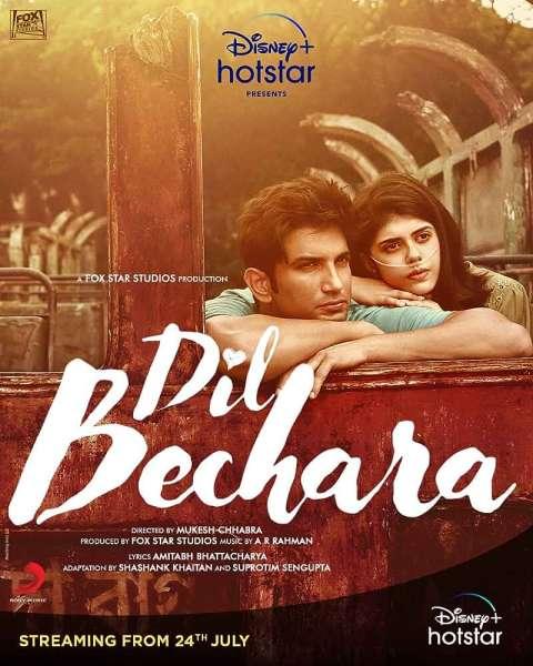 Dil Bechara (2020) Full Movie In Hindi WEB-DL480p | 720p | 1080p