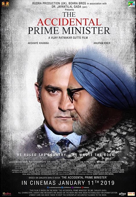 Akshaye Khanna and Anupam Kher in The Accidental Prime Minister (2019)