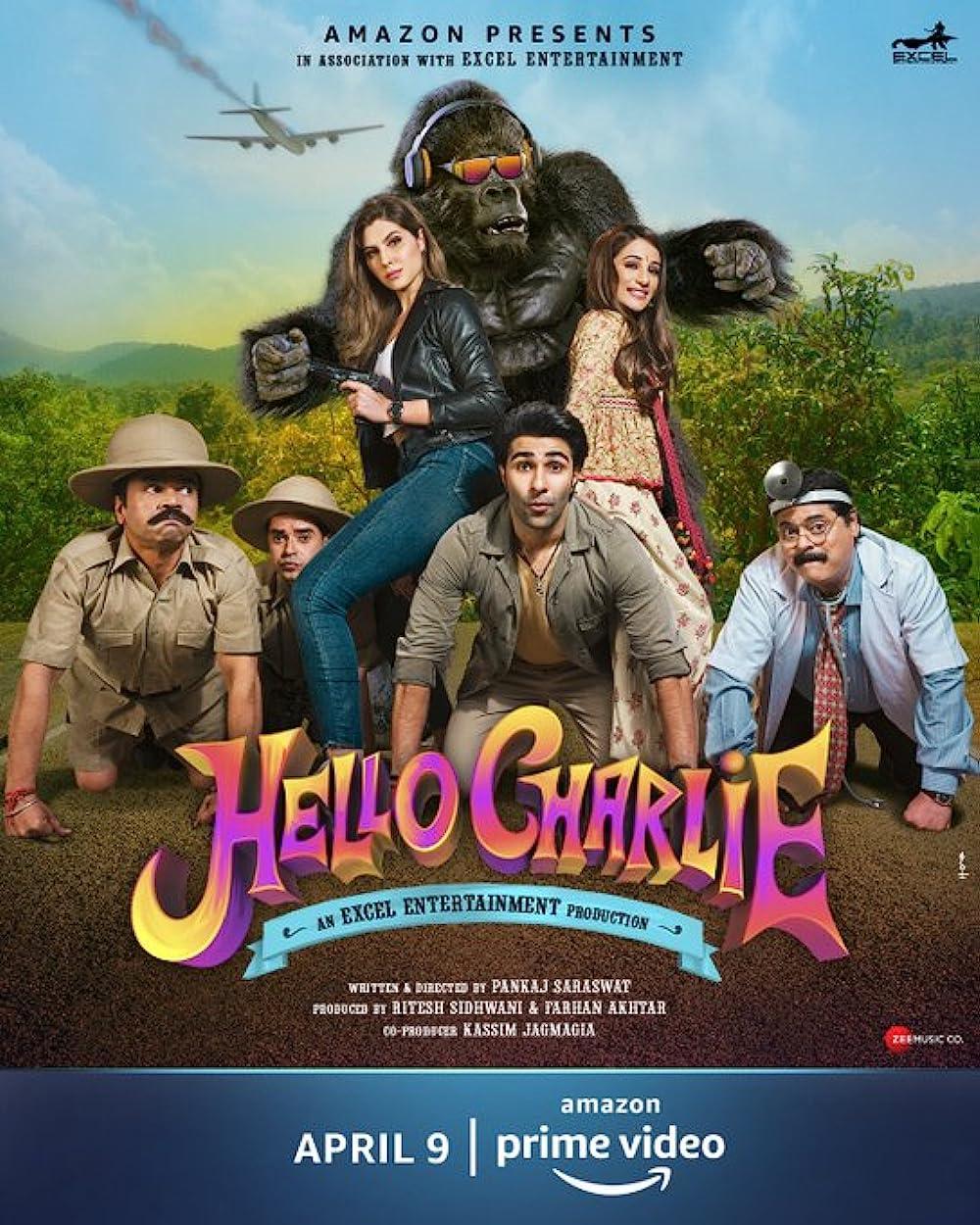 Hello Charlie 2021 Hindi Movie 480p | 720p AMZN HDRip 362MB | 900MB Download