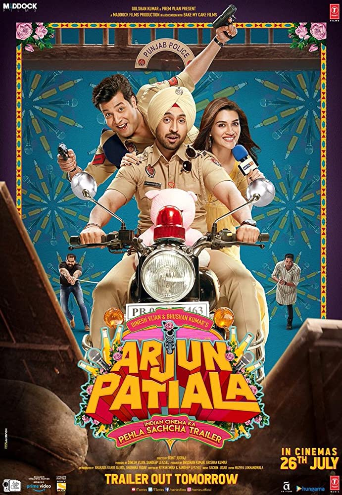 Upcoming Bollywood Movie Arjun Patiala (2019) Star Cast, Release Date, Trailer, Songs, Story