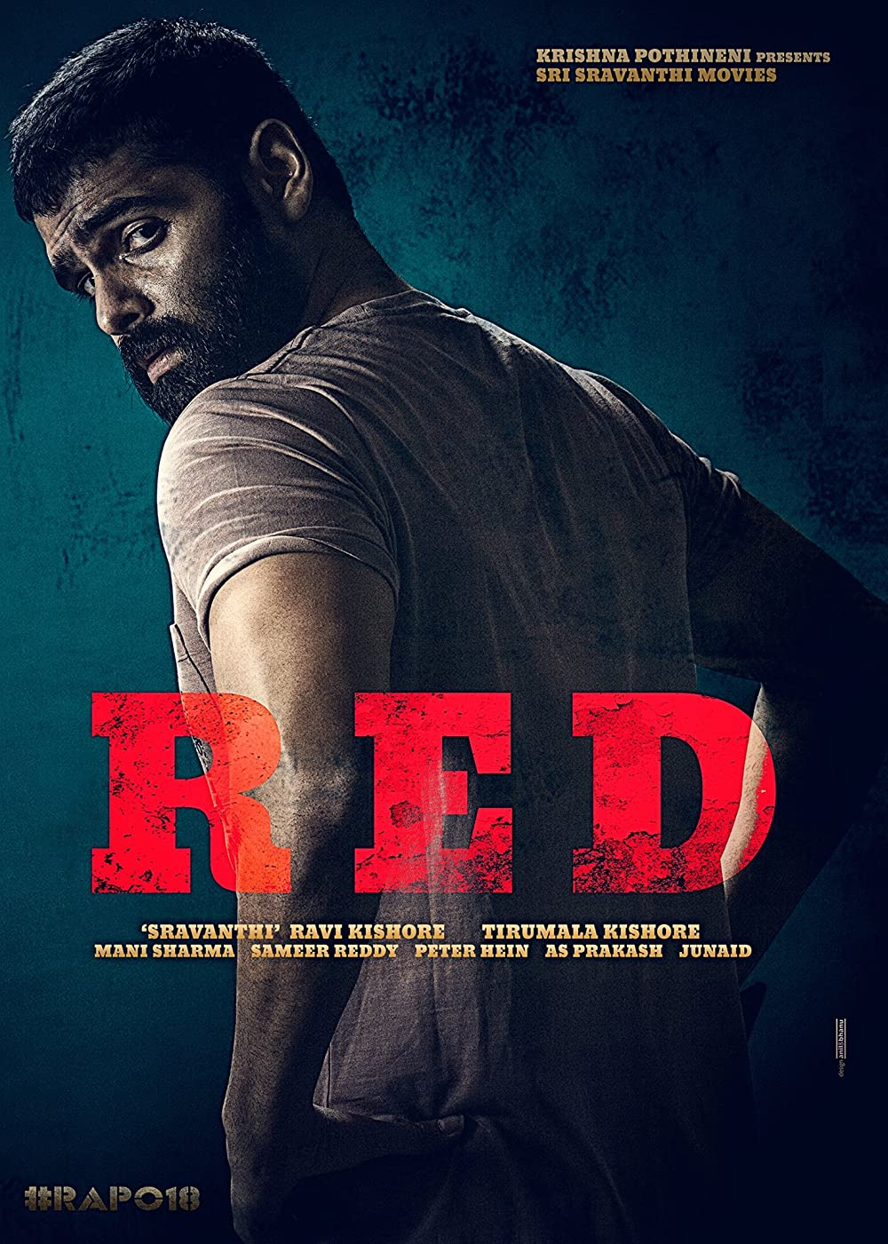 RED (2021) Telugu 720p | 480p DVDRip 700MB | 350MB Download