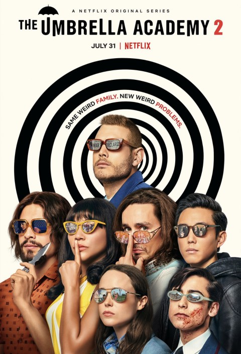 The Umbrella Academy (Season 1 – 2) Dual Audio {Hindi-English} 480p   720p