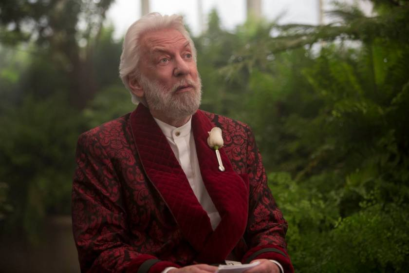 Donald Sutherland in The Hunger Games: Mockingjay - Part 2 (2015)