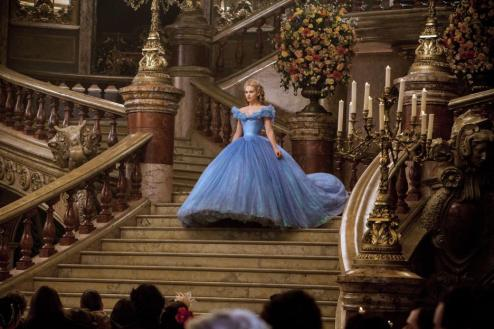 Lily James in Cinderella (2015)