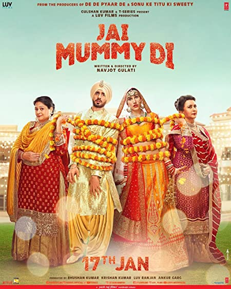 Jai Mummy Di (2020) Hindi WEB-DL - 480P | 720P | 1080P - x264 - 400MB | 1.1GB | 2.3GB - Download & Watch Online Movie Poster - mlsbd