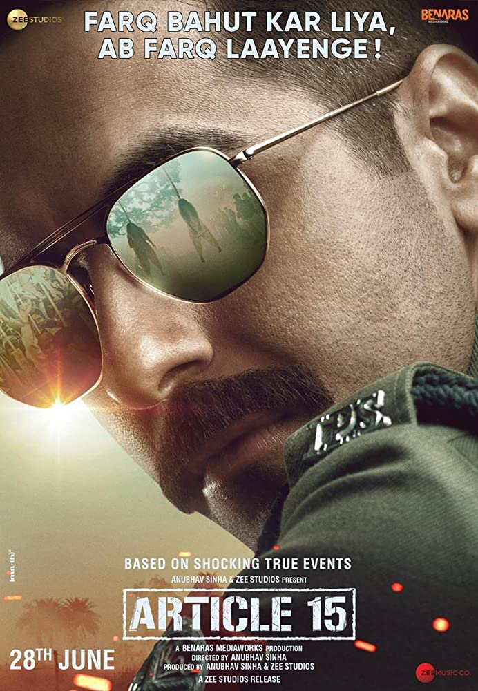 Upcoming Bollywood Movie Article 15 Release Date, Star Cast, Trailer, Story, Songs