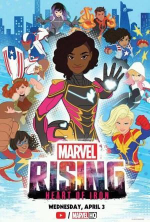 Marvel Rising - Coração de Ferro Dublado Online