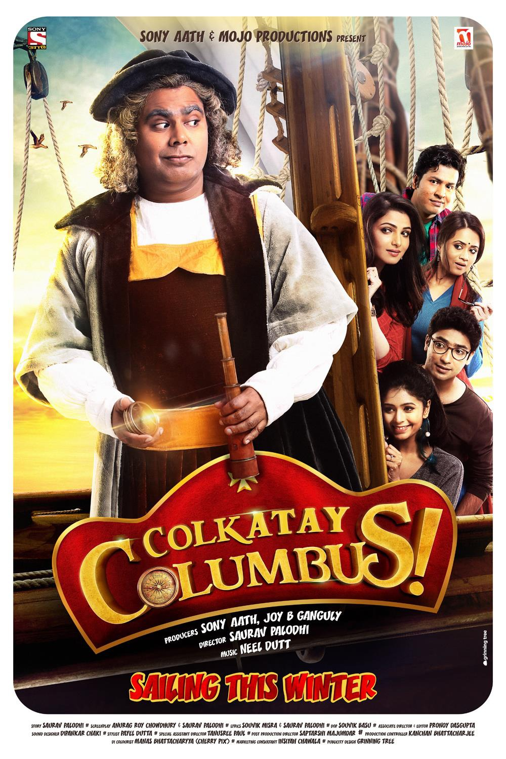 Colkatay Columbus (2016) Bengali Netflix WEB-DL - 480P | 720P | 1080P - x264 - 400MB | 1GB | 3GB - Download & Watch Online  Movie Poster - mlsbd