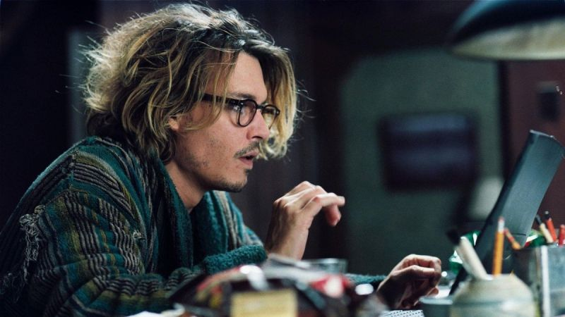 Johnny Depp in Secret Window (2004)