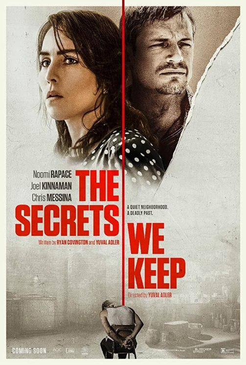 Noomi Rapace and Joel Kinnaman in The Secrets We Keep (2020)