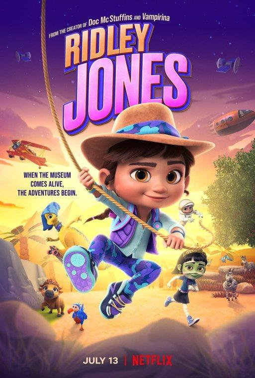 Download Ridley Jones 2021 S01 Hindi Complete Netflix Original Series 480p HDRip 500MB