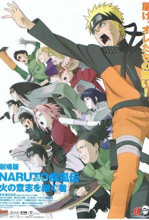 Naruto Shippuden 3: Herdeiros da Vontade de Fogo Legendado Online