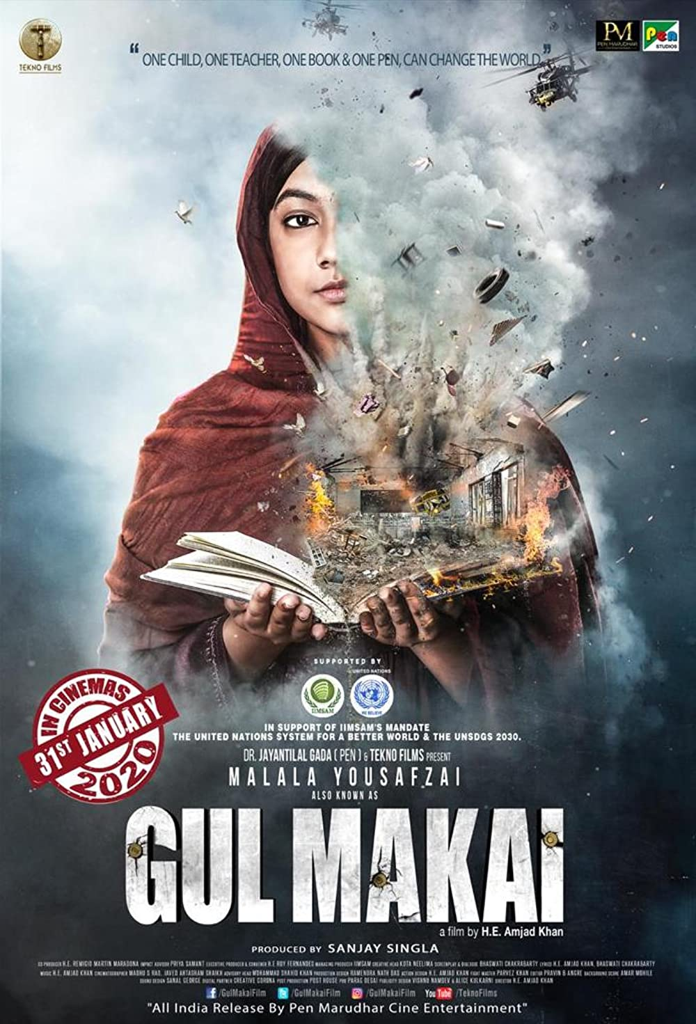 Gul Makai 2020 Hindi  480p | 720p HDRip 375MB | 800MB Download