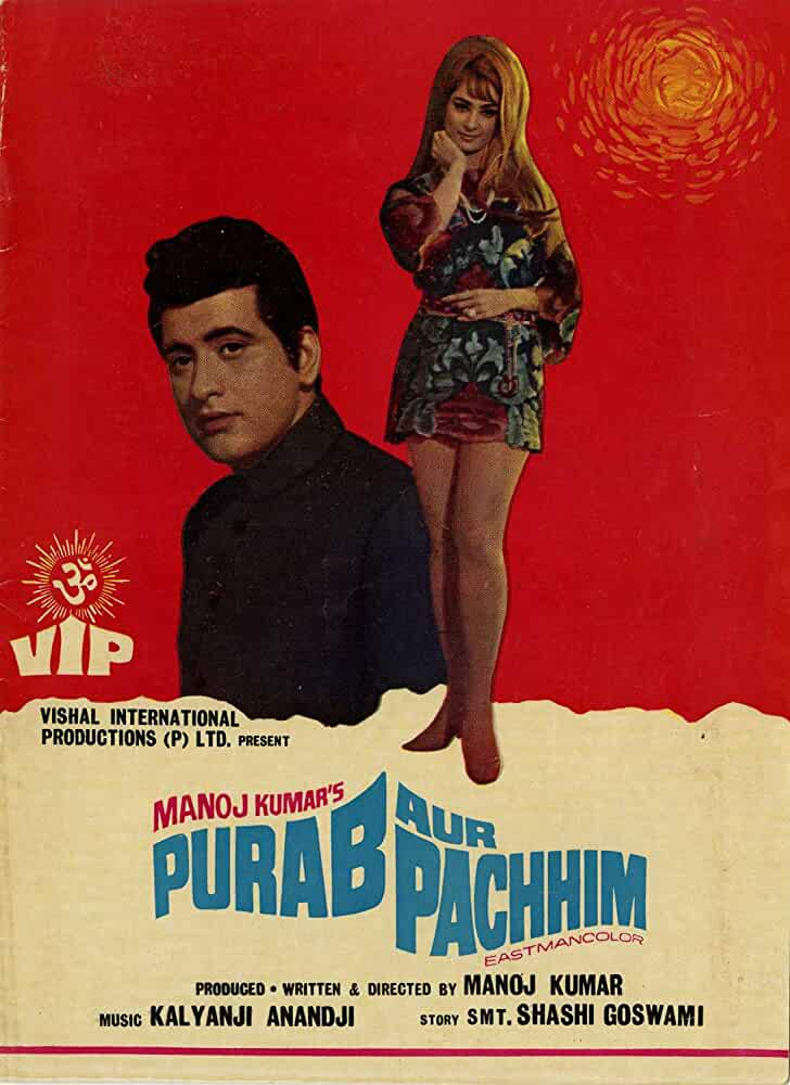 Download Purab Aur Pachhim (1970) Hindi Full Movie 480p [400MB] | 720p [1GB]