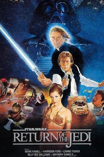 Guerra nas Estrelas: O Retorno de Jedi Dublado Online