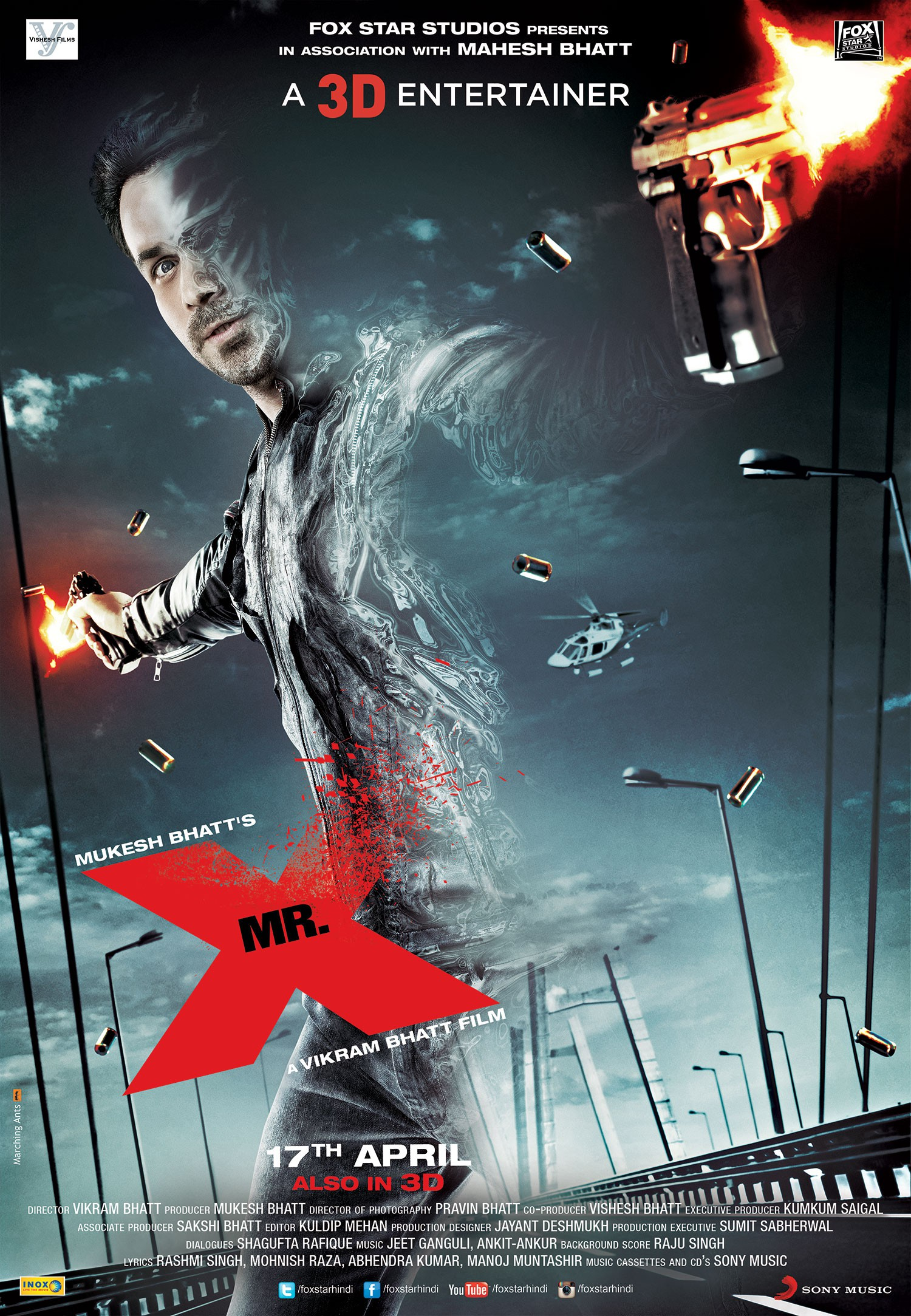 Mr. X (2015) Hindi WEB-DL - 480P | 720P - x264 - 350MB | 850MB - Download & Watch Online  Movie Poster - mlsbd